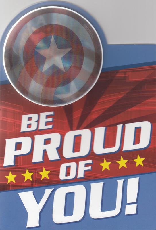 Buy Hallmark Interactive Birthday Card Avengers Captain America