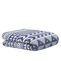 Bambury Nolita Ultraplush Throw Rug (Denim)