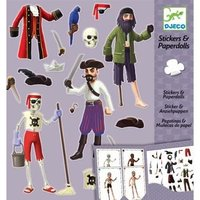 Djeco: Design - Stickers Pirates
