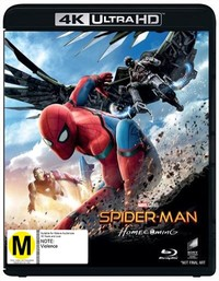 Spider-Man: Homecoming on Blu-ray, UHD Blu-ray image
