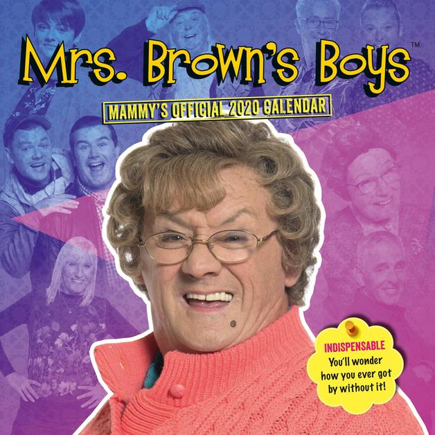 Official Mrs Brown's Boys 2020 Square Wall Calendar