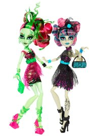 Monster High: Zombie Shake Doll - Rochelle Goyle & Venus Mcflytrap