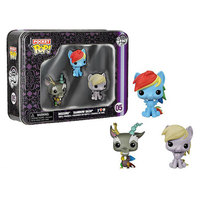 My Little Pony Pocket Pop! Mini Vinyl Figure Tin Set (3 Pack)