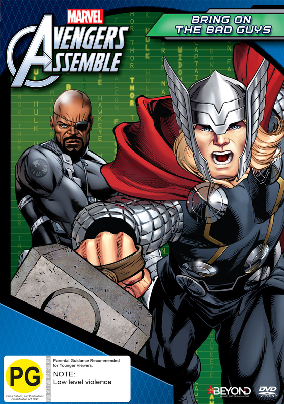 Avengers Assemble: Bring On The Bad Guys on DVD