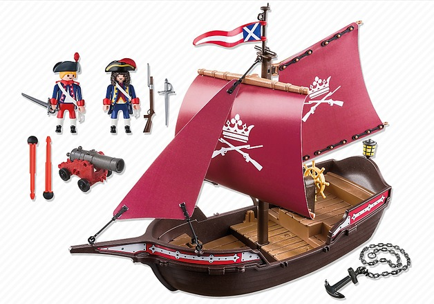 Playmobil: Soldiers Cannon Boat (6681)