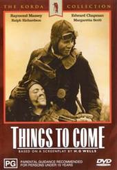 Things To Come (black and white) on DVD