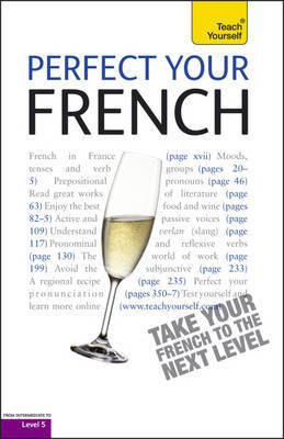 Perfect Your French (book only) 2E: Teach Yourself by Jean-Claude Arragon image