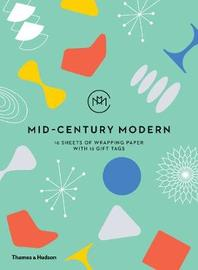 Mid-Century Modern: Gift Wrapping Paper Book by Frances Ambler