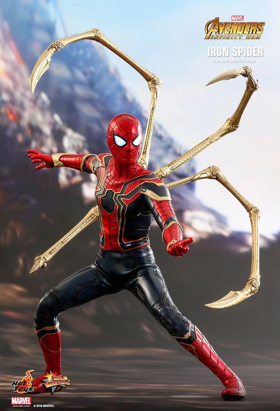 "Avengers Infinity War: Iron-Spider - 12"" Articulated Figure"