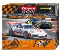 Carrera: Go!!! Pedal to the Metal Slot Car Set (Porsche/Mercedes)