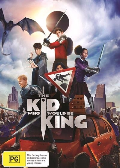 The Kid Who Would Be King on DVD image