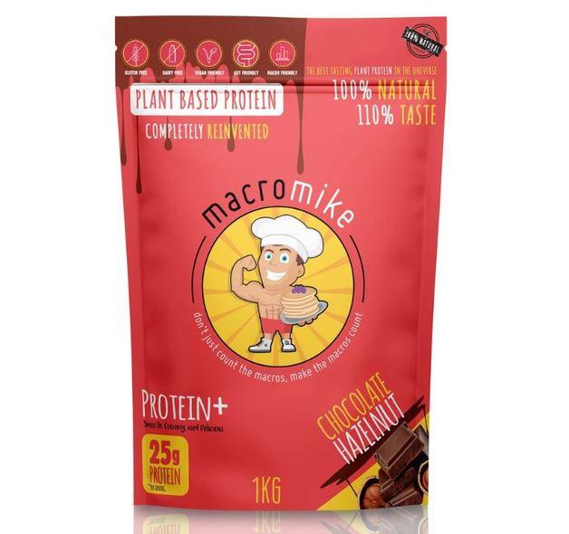 Macro Mike Plant Protein Powder - Choc Hazelnut (1kg)