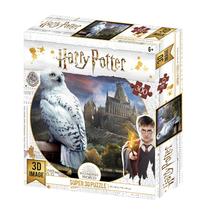 Super 3D: 300-Piece Jigsaw Puzzle - Harry Potter: Hedwig image
