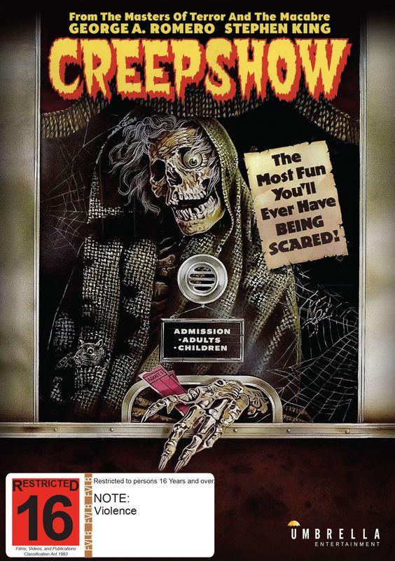 Creepshow on DVD