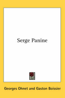 Serge Panine by Georges Ohnet image