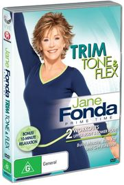 Jane Fonda Prime Time: Trim, Tone & Flex on DVD