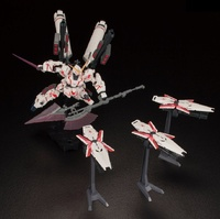 HGUC 1/144 Full Armor Unicorn Gundam (Red Destroy Mode) - Model Kit image