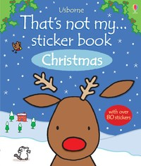 Thats Not My Christmas Colouring Book by Fiona Watt