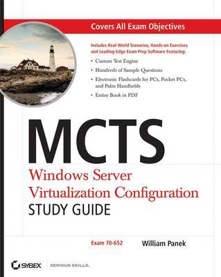 MCTS Windows Server Virtualization Configuration Study Guide by William Panek image