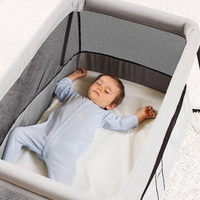 Baby Bjorn Travel Crib Light - Silver image