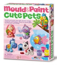 4M: Craft Cute Pets Mould and Paint image