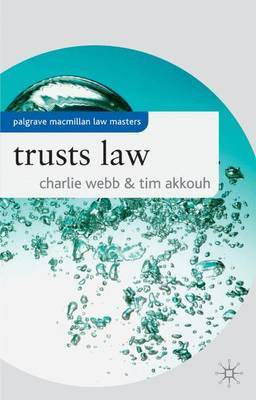 Trusts Law by Charlie Webb image