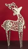 Flourish: Reindeer With Tie Centrepiece