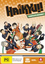 Haikyu!! - Complete Season 1 (Subtitled Edition) on DVD