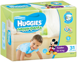 Huggies Nappy Pants Bulk - Toddler Boy 10-15kgs (31)