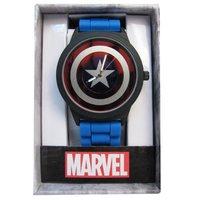 Captain America: Shield Dial - Rubber Strap Watch