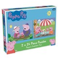 Peppa Pig: 2 x 24 Piece Puzzles - Peppa's Summer Fun