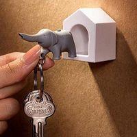 Qualy Elephant Key Ring