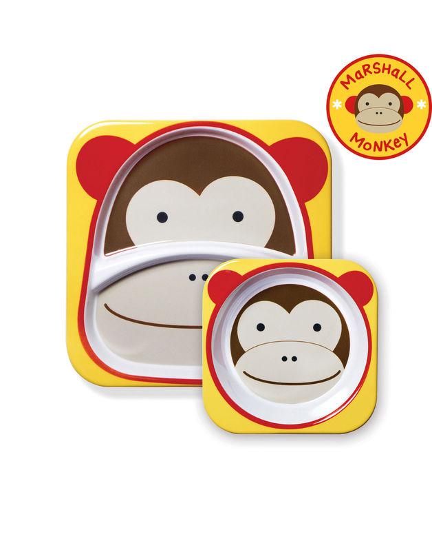 Skip Hop: Zoo Melamine Set - Monkey