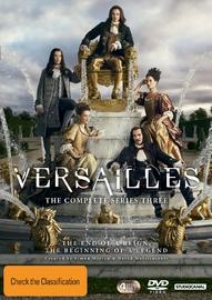 Versailles: Season 3 on DVD