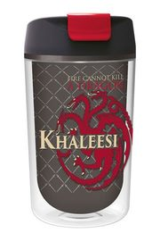 Game of Thrones: Drinking Cup Tumbler To Go Khaleesi image