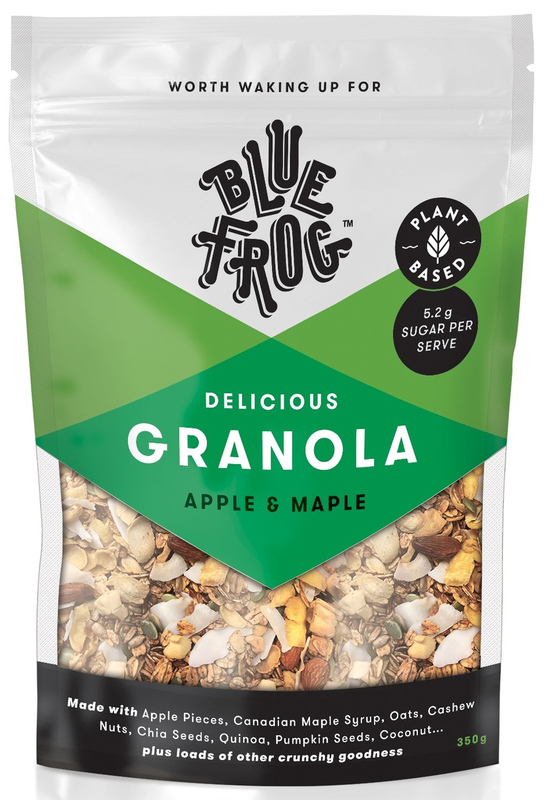Blue Frog Granola - Apple and Maple (350g)