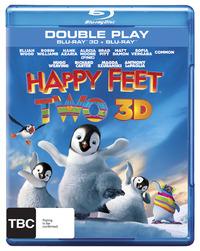 Happy Feet Two 3D Blu-ray/Blu-ray on Blu-ray, 3D Blu-ray