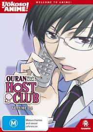 Ouran High School Host Club Vol. 04 (Yokoso Anime Edition) on DVD