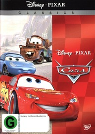 Cars (New Packaging) on DVD