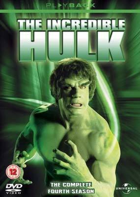 The Incredible Hulk - The Complete 4th Season (5 Disc Set) on DVD