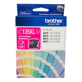 Brother Ink Cartridge LC135XLM - High Yield (Magenta)