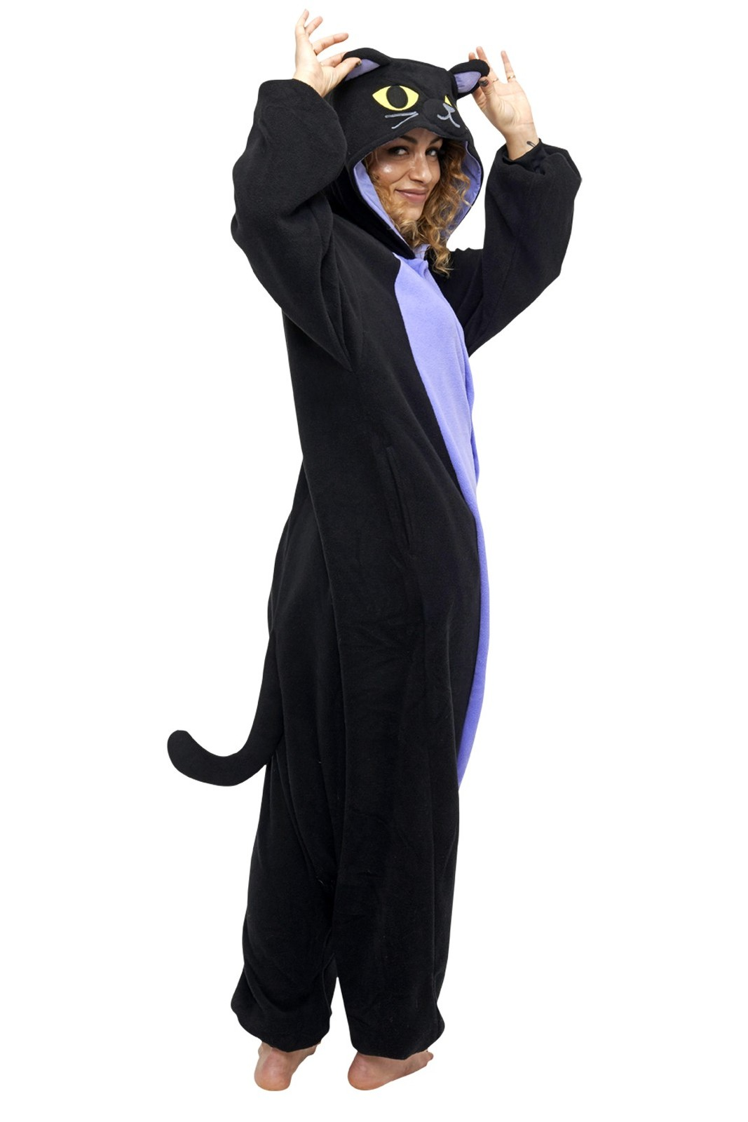 ... Midnight Cat Kigu - Adult Onesie image ... cb7333cd7