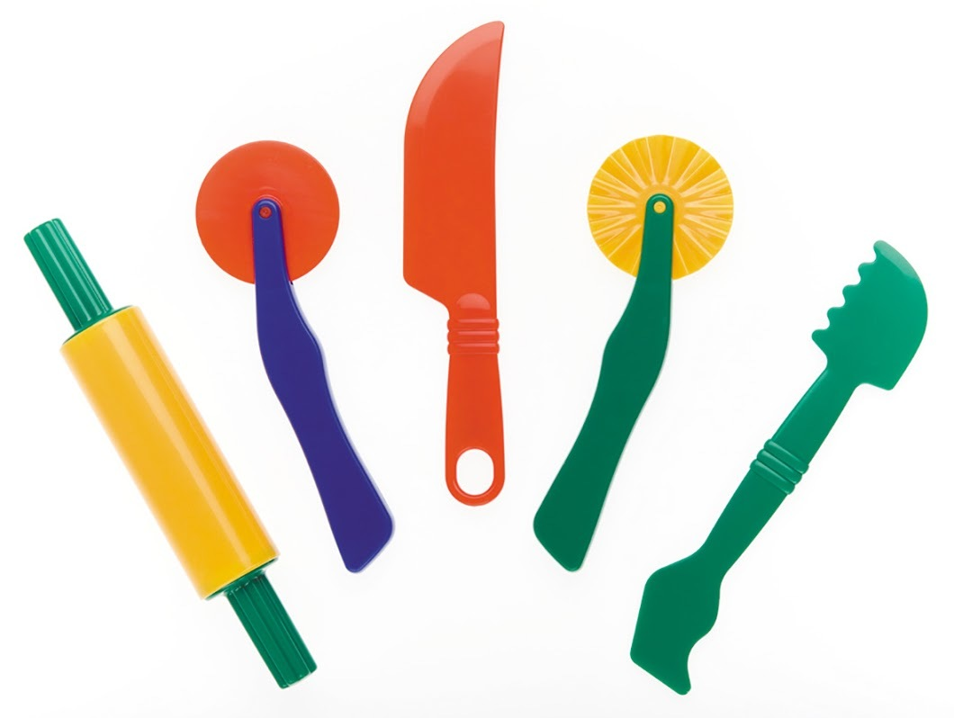 EC Colours - Assorted Dough Tools - Pack of 5 image