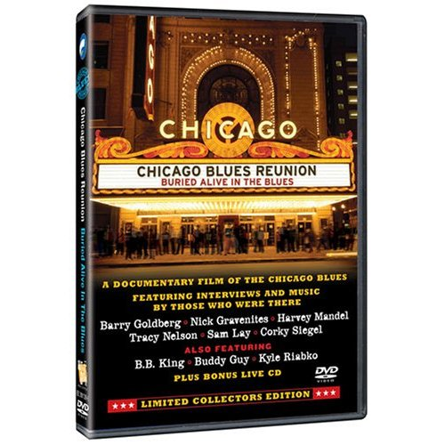 Chicago Blues Reunion - Buried Alive In The Blues: Limited Collectors Edition (DVD / CD) on DVD image