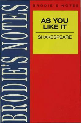 Shakespeare: As You Like It by W. Eastwood image