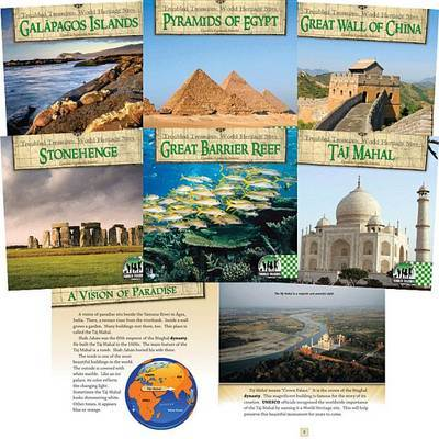 Troubled Treasures: World Heritage Sites by Cynthia Kennedy Henzel