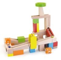 VIGA Wooden Toys: Marble Run - Wooden Block Set (49pc)