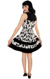 Retrolicious: Sketchy Cat Dress - (Large) image