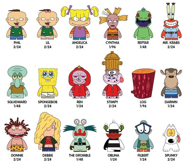 Kidrobot: Nickelodeon 90's - Mini-Figure (Blind Box) image