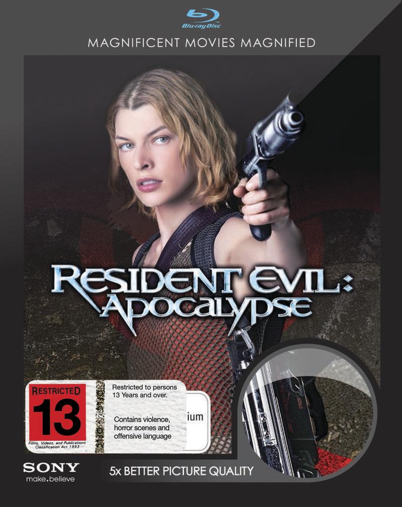 Resident Evil - Apocalypse on Blu-ray image